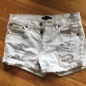 Small/extra small ripped shorts from Forever 21